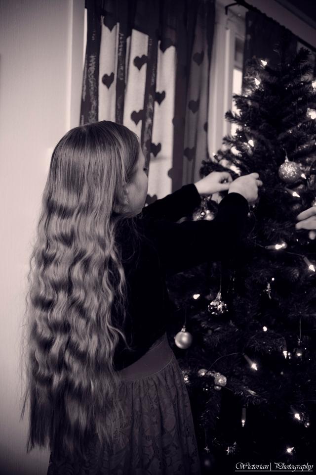 Jeg har aldri greid å få denne lengden på mitt hår. Jeg var litt for ivrig med saksa når jeg var liten.