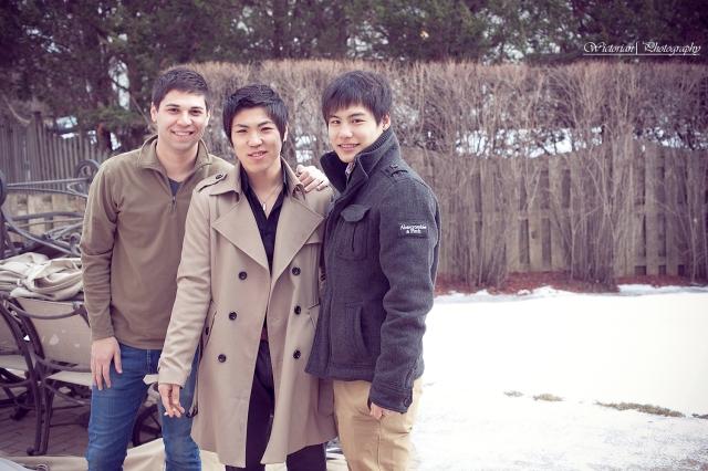Jeff, Jay and Shun