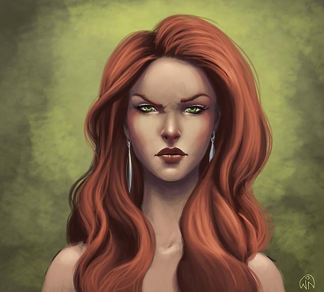 redhead copy