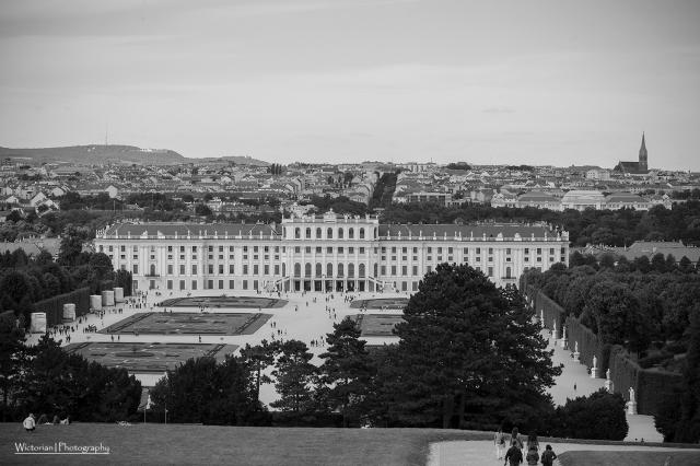 The castle in Vienna